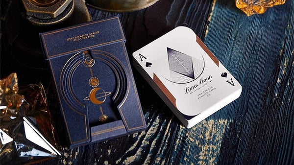 Luna Moon Playing Cards Limited Edition Deluxe Tuck Case Rare Deck