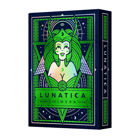 Lunatica Playing Cards Limited Chimera Edition Rare Holographic Foil