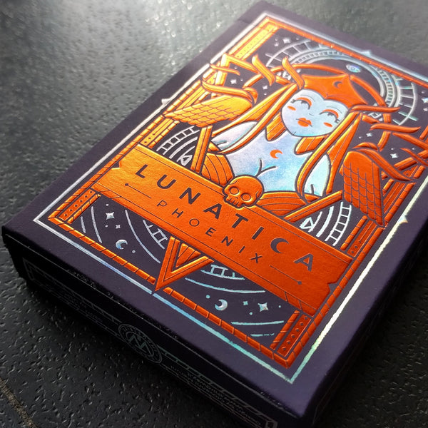 Lunatica Playing Cards Limited Phoenix Edition Rare Holographic Foil