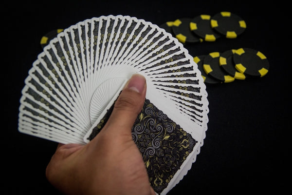 LUXX Gold Playing Cards Shadow Edition V2 Poker Magic Deck