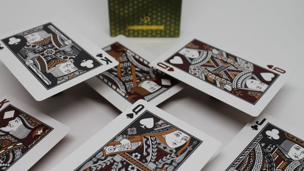 Luxx Elliptica Playing Cards Limited Edition Green Luxury Deck