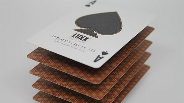 Luxx Elliptica Playing Cards Limited Edition Orange Luxury Deck