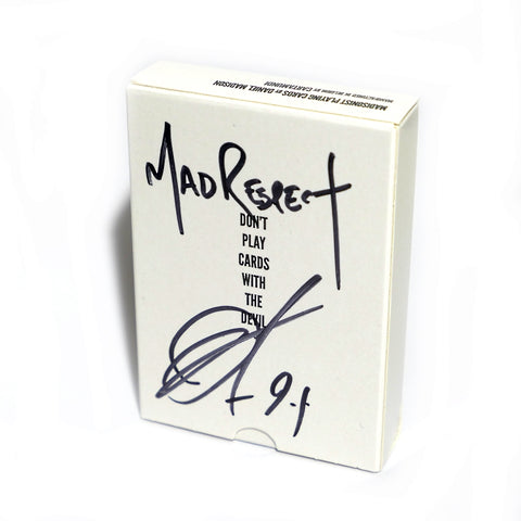 Madisonist Playing Cards Rare Signed by Daniel Madison Mad Respect