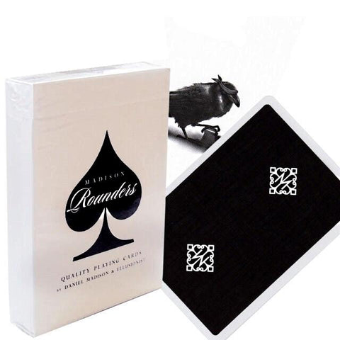 Madison Rounders Playing Cards Black Edition by Ellusionist