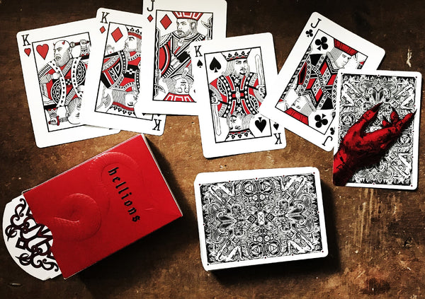 Madison Hellions Playing Cards Deck Don't Play with the Devil