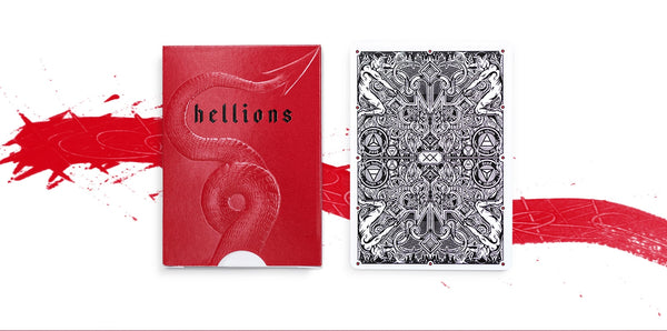 Madison Hellions V4 Playing Cards Deck Don't Play with the Devil 3-Decks Set