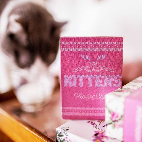 Madison Kittens Playing Cards Marking system Magic Gaff-Deck