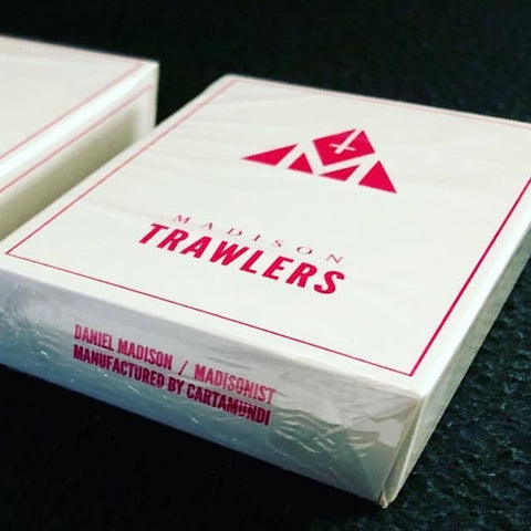 Madison Trawlers Playing Cards Rare Pink Edition by Daniel Madison