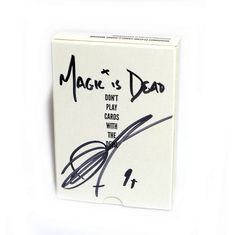Madisonist Playing Cards Rare Signed by Daniel Madison Magic is Dead