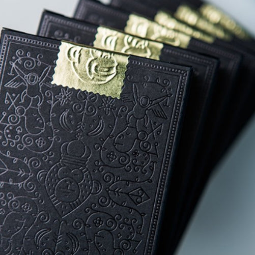 MailChimp Playing Cards Black Edition by Theory 11