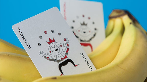 MailChimp Playing Cards Red Edition by Theory 11