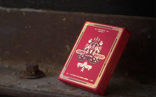 Playing Card Gift Set Victorian Hellions Knights Malam 4 Decks
