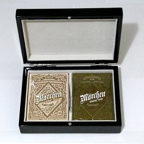 Marchen Playing Cards German Folk-law Gloss Wooden Boxset