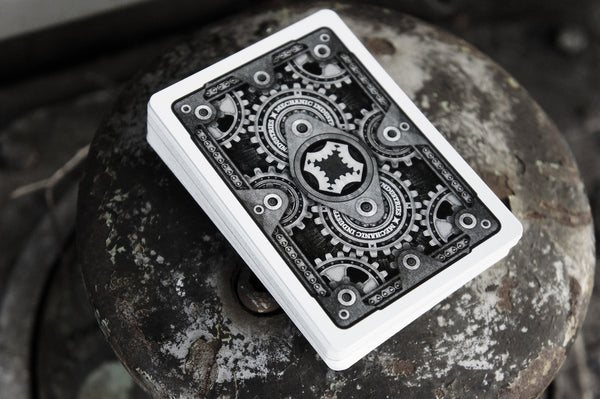 The Mechanic Playing Cards 2nd Edition VR2 Marked Deck