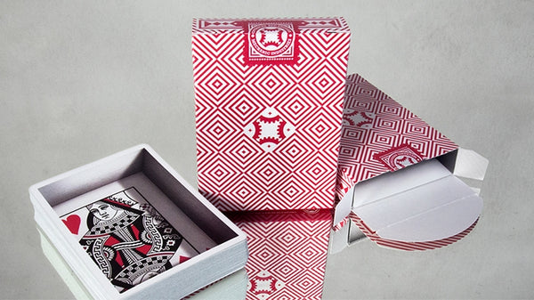 Mechanic Optricks Playing Cards Red Edition by Mechanic Industries