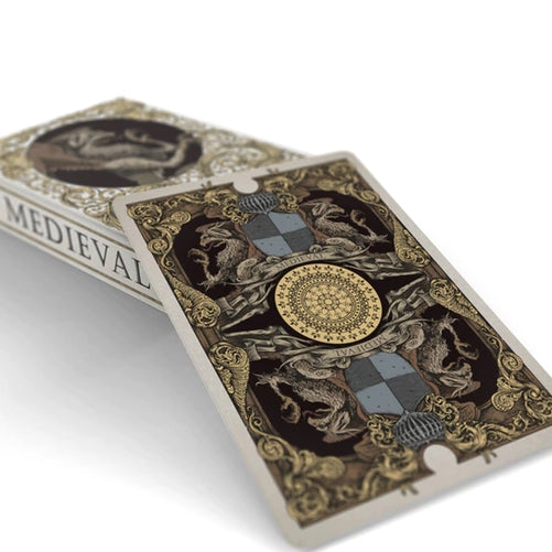 Medieval Gold Edition Playing Cards Renaissance Deck