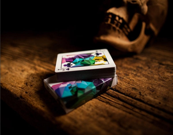 Memento Mori Playing Cards 1st Edition Wooden Black Boxset 2 decks