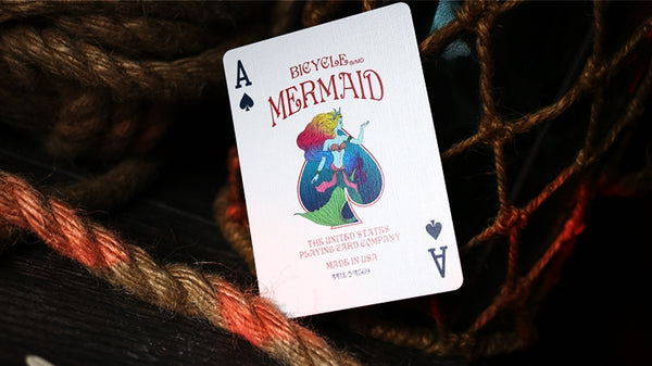 Mermaid Playing Cards Bicycle Sirene Edition made in USA