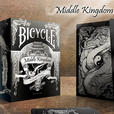 Middle Kingdom Playing Cards Black Edition Deck Ancient China