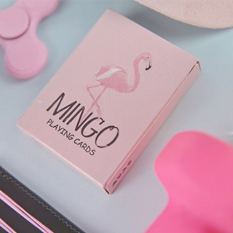 Mingo Playing Cards Flamingo deck by TCC