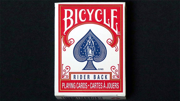 Official Bicycle MINI Playing Cards deck Red Edition Rider Back
