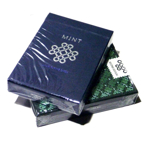 Mint 2 Playing Cards 2nd Edition Blueberry & Cucumber 2-Decks Set