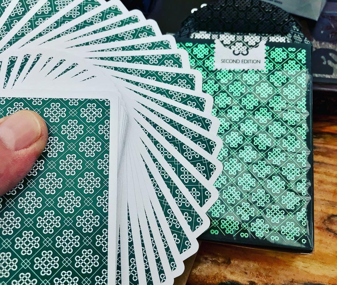 Mint 2 Playing Cards Cucumber