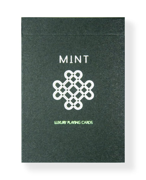 Mint 2 Playing Cards Green Cucumber Edition Magic Deck Marking System