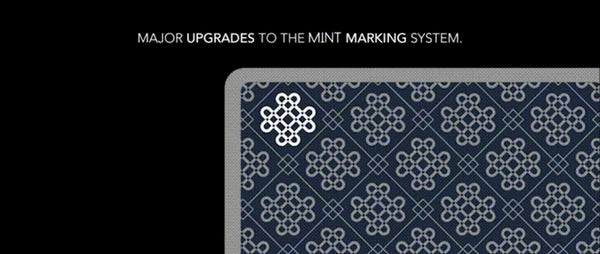 Mint 2 Frost Playing Cards Kickstarter Edition Rare Deck Marking system