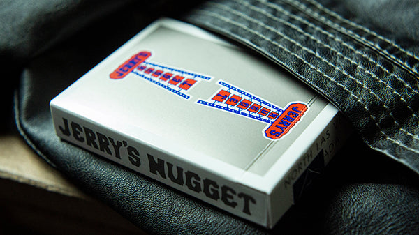 Vintage Feel Jerry's Nuggets Playing Cards Steel Edition