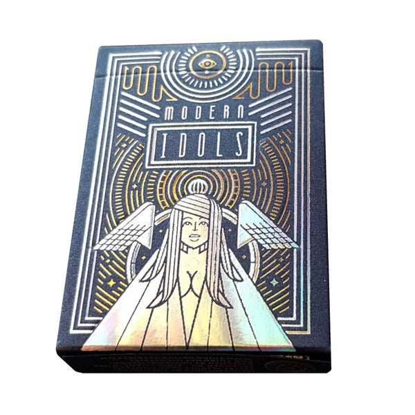 Modern Idols Endless Hope Playing Cards Gold & Silver Foiled Luxury Numbered