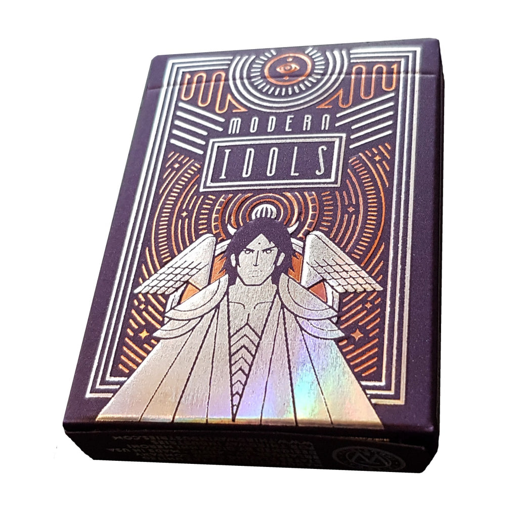 Modern Idols Extreme Fear Playing Cards Holographic Foil Numbered