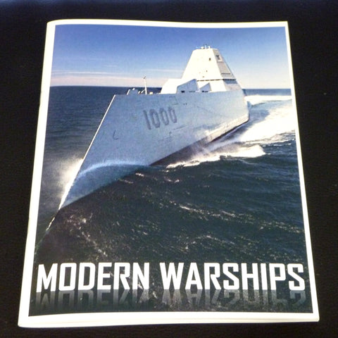 Modern Warships Playing Cards Ship Information Booklet Companion