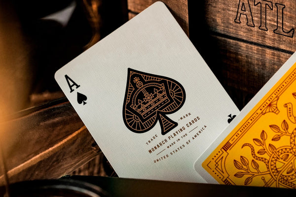 Monarchs Playing Cards Mandarin Limited Edition 2-Deck Set