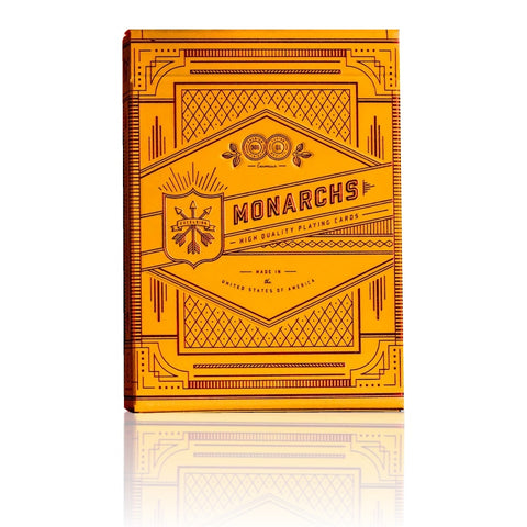Monarchs Playing Cards Mandarin Limited Edition Monarch by Theory 11