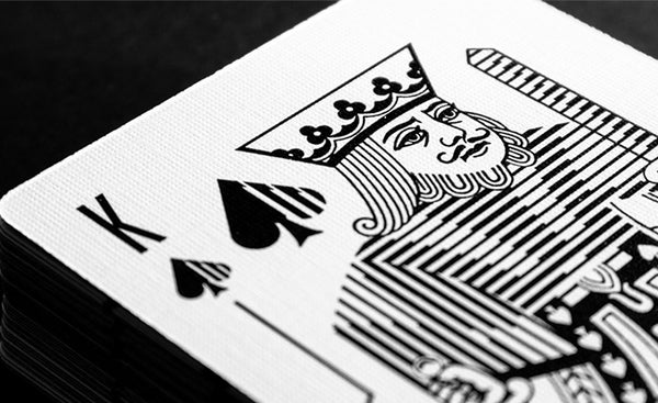 Mono-X Playing Cards Cardistry Deck Designed in UK by Luke Wadey