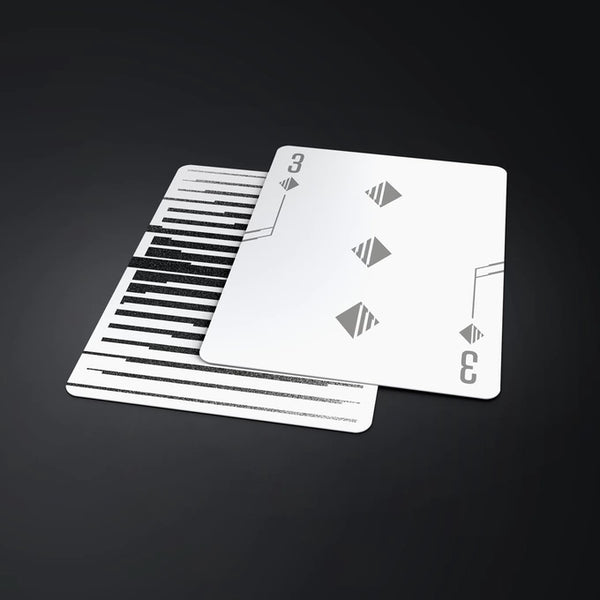 Mono - X Playing Cards Cardistry Deck Designed in UK by Luke Wadey