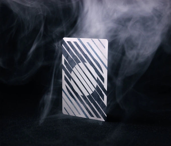 Mono-Xero Playing Cards Designed in UK Cardistry Blue Deck by Luke Wadey