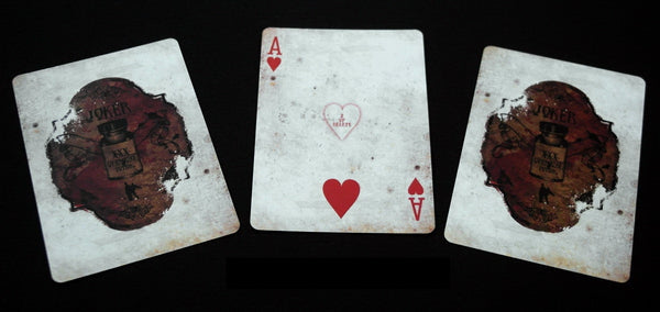 Mr Hyde Playing Cards Bicycle Deck by Alakazam Magic