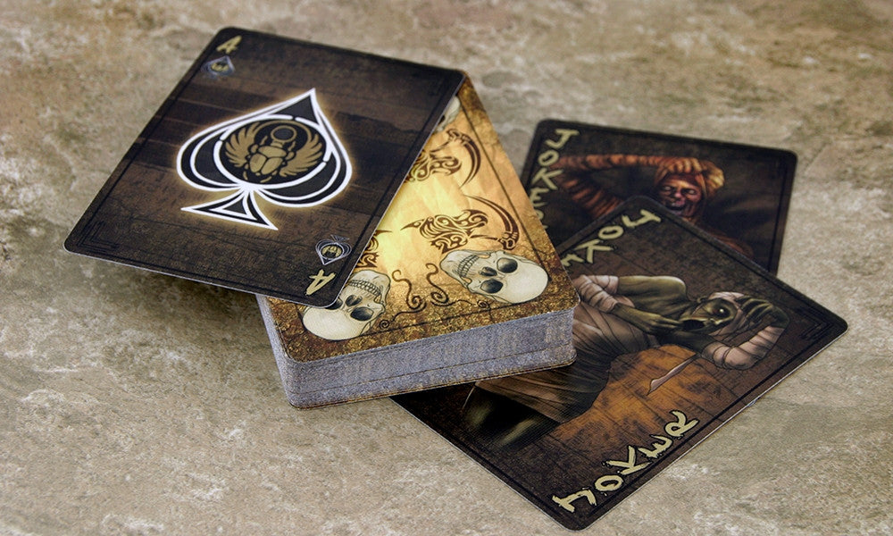 The Mummy Brand New and Sealed Deck of Playing Cards