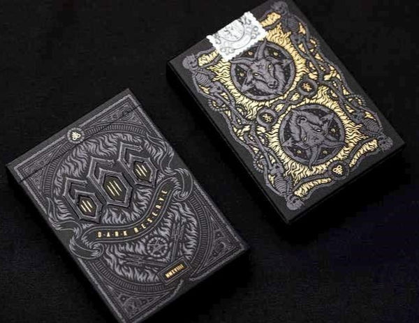 Mystery Deck Playing Cards Discover Darkness Edition Rare Limited Release
