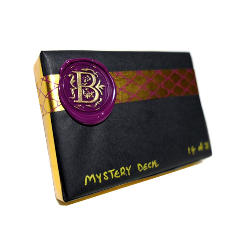 Mystery Deck Playing Cards Purple Edition Rare Thirdway Female Limited Release