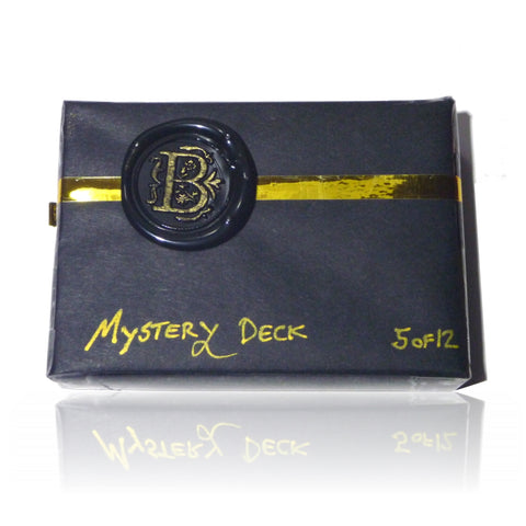 Mystery Deck Playing Cards Rare Private Reserve October Release