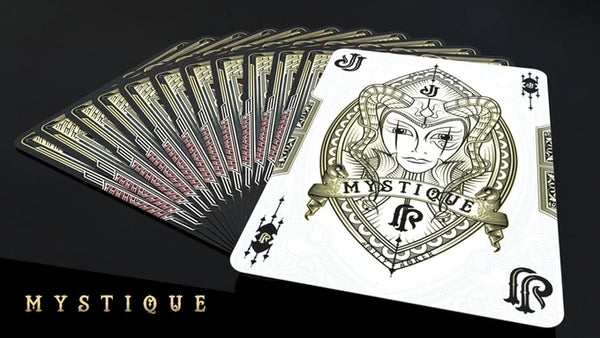 Mystique Playing Cards Red Edition Poker Magic Deck