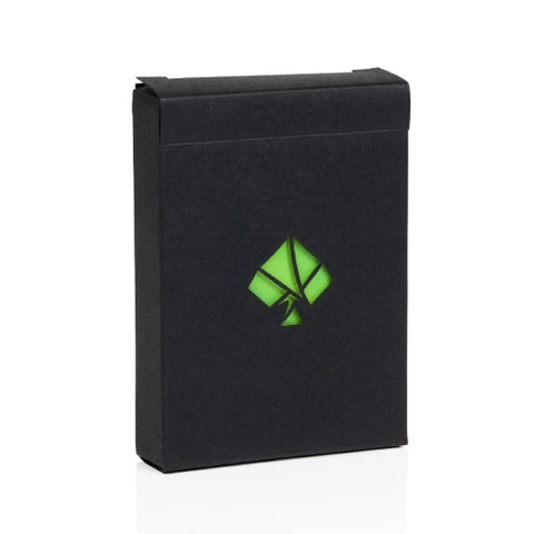 NOC Colorgrades Playing Cards by Art of Play Tropic Green edition