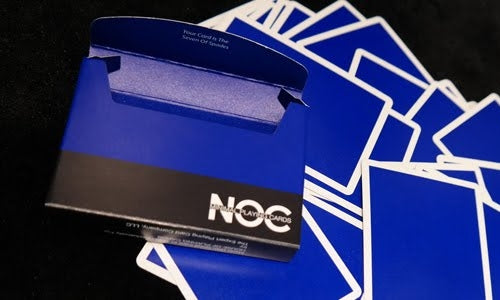 NOC Blue V3S Playing Cards 2015 Deck