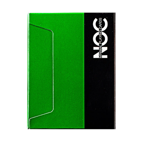NOC Green V3S Playing Cards 2015 Deck