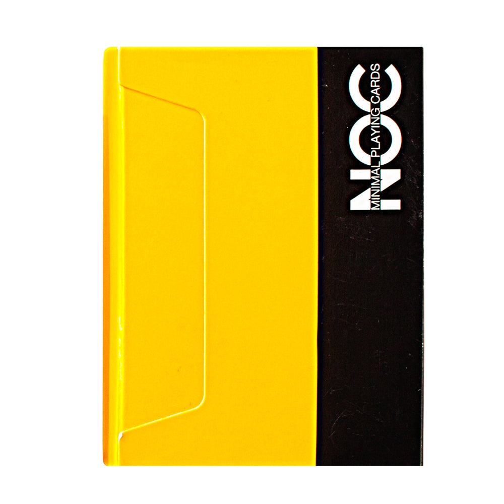 NOC Yellow V3S Playing Cards 2015 Deck