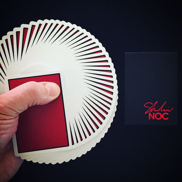 NOC x Shin Lim Playing Cards Limited Edition Red and Black Magic Deck