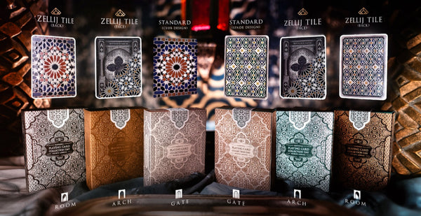 NPCCD 2019 Playing Cards by Seasons Moroccan Palace Full 6-Decks #152